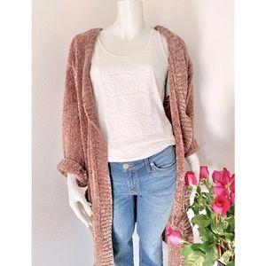Oversized Chenille Teddy Sweater